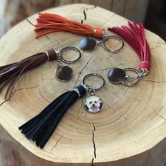 Customised Keychain with Tassel