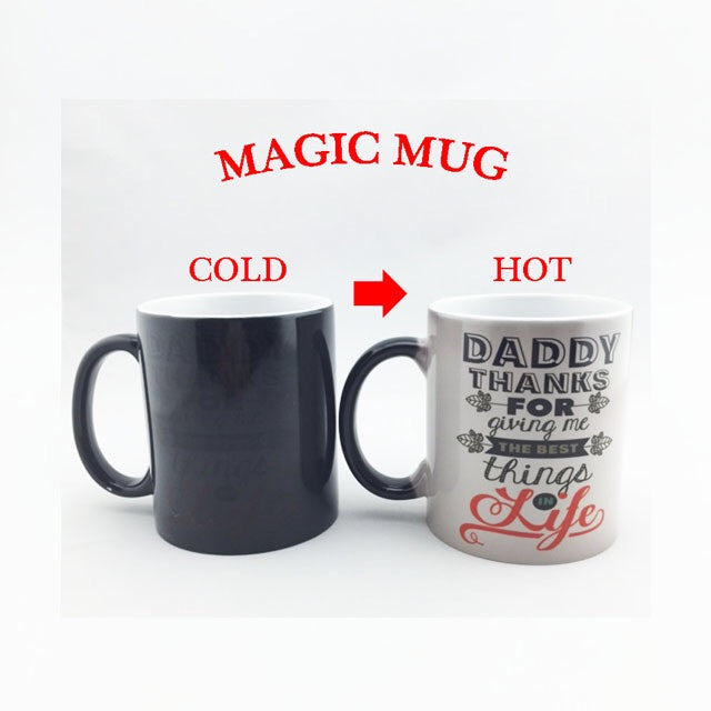 Color Changing Magic Mugs - Assorted Design
