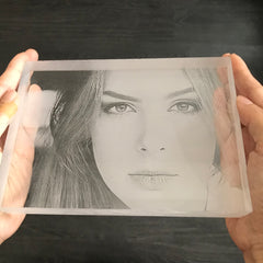 Image Engraving on Acrylic