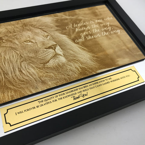 Appreciation Plaque for Mentor