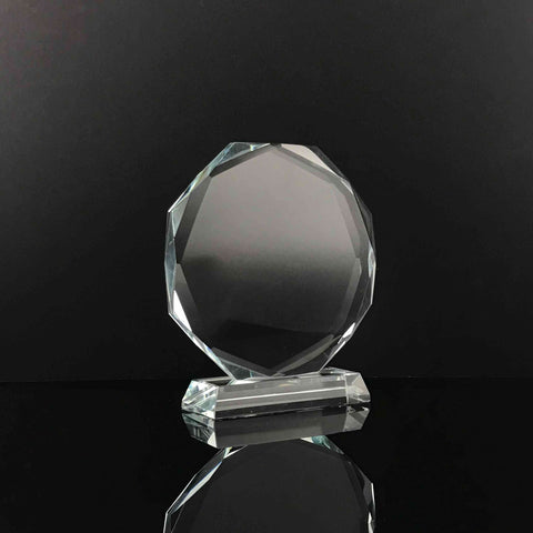 "5""/ 6""/ 7""/ 7.5"" Octagon Crystal"
