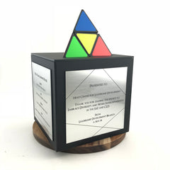 Custom Appreciation Gift Acrylic Cube