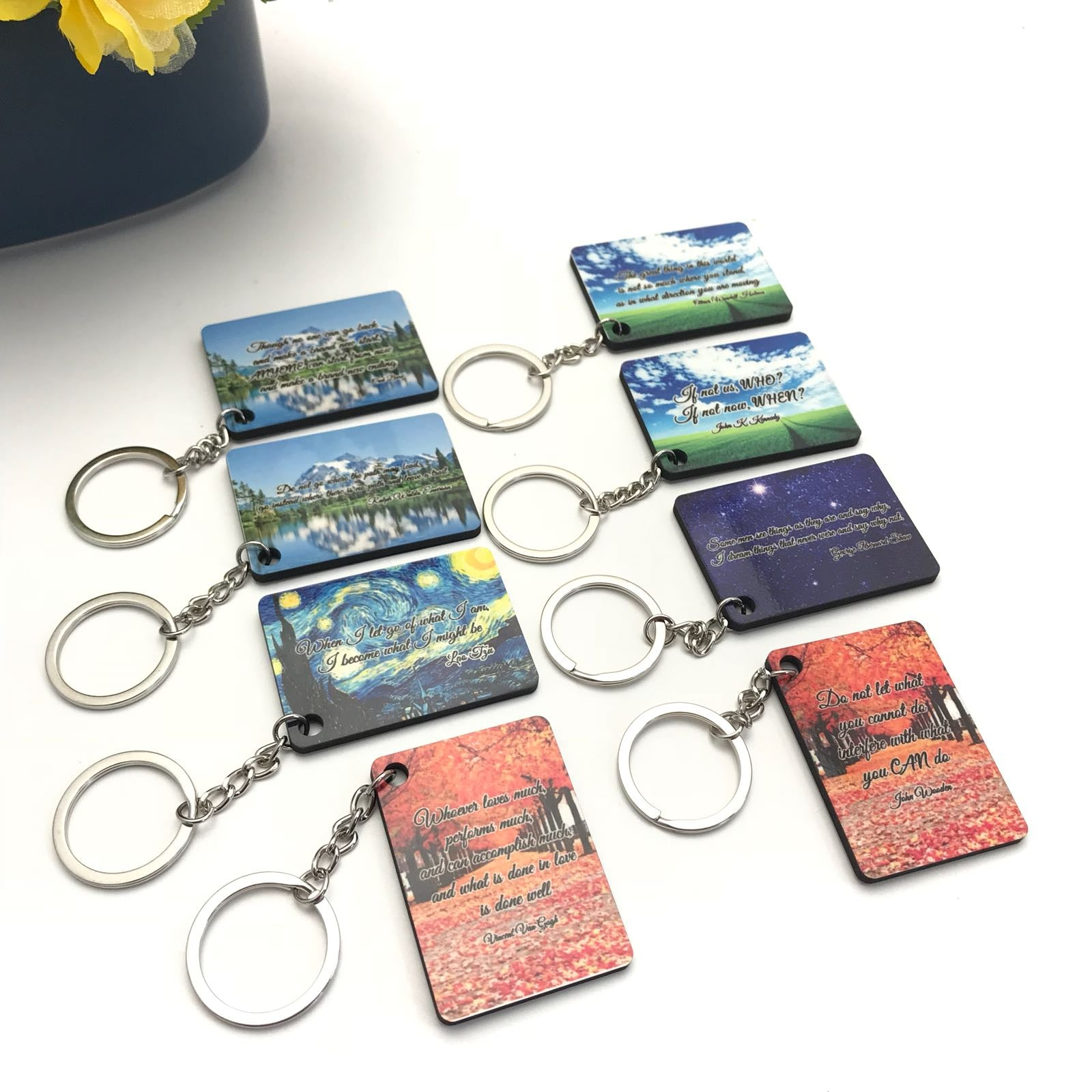 Key Chain with Custom Image