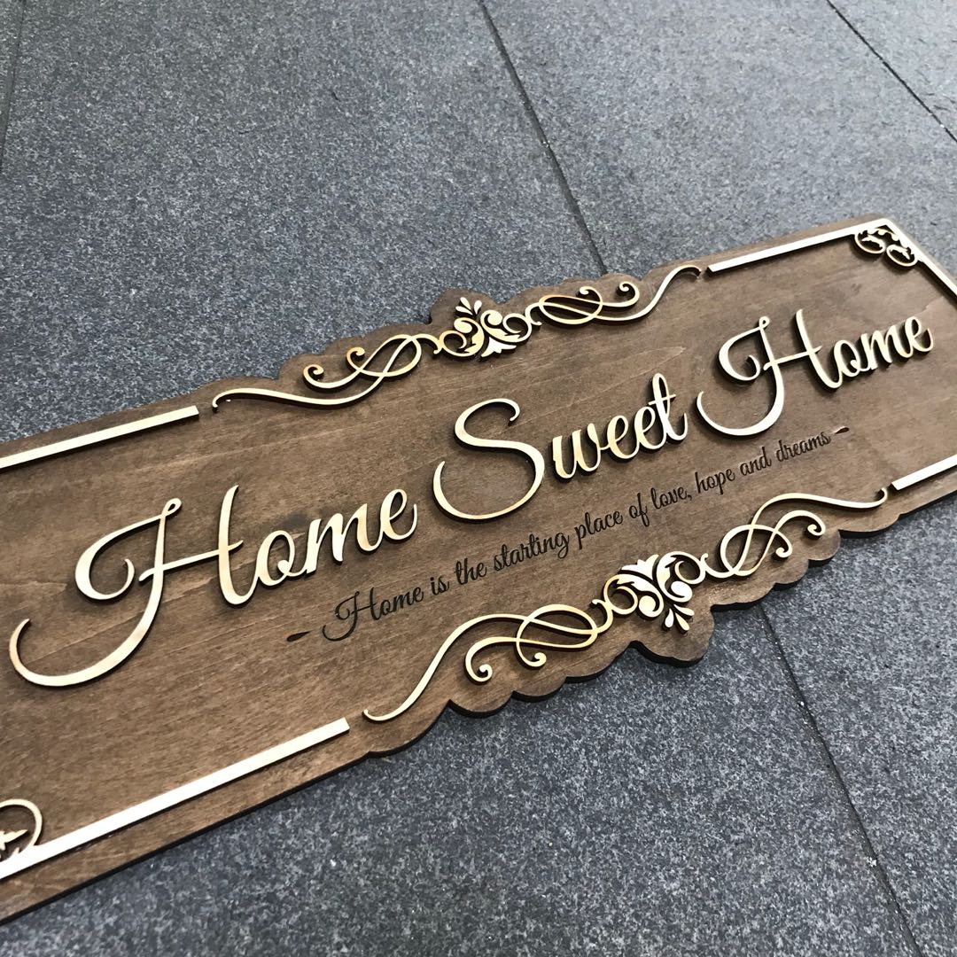 Home Sweet Home Signage