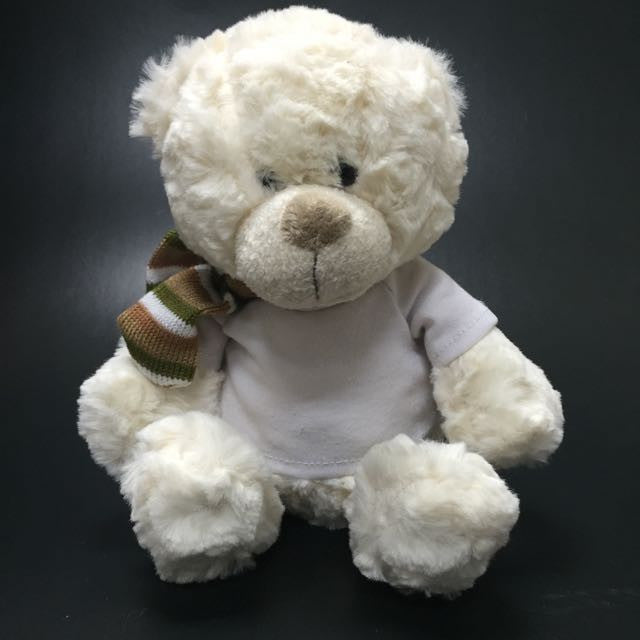 Plush Bear with Custom Tee