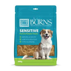 Burns Treat Sensitive Pork 200g