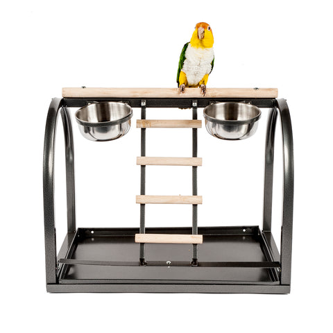 Rainforest Cages Table Top Parrot Stand