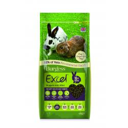 Burgess Excel Rabbit Adult with mint 4kg