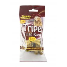 Munch & Crunch Filled Bone Tripe 2pk