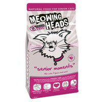 Meowing Heads Senior Moments 1.5kg - Pet Products R Us