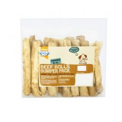 Good Boy Beef Rolls Bumper Pack 340g