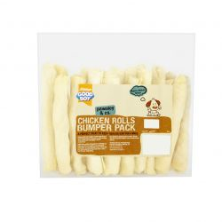 Good Boy Chicken Rolls Bumper Pack 340g