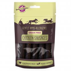 Hypo Grain Free Chicken Sausages 100g - Pet Products R Us
