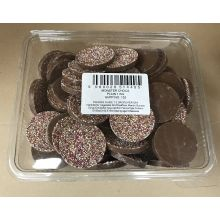 Monster Chocs Disc Plain Chocolate 1kg