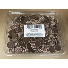 Monster Mini Disc Plain Chocolate 1kg