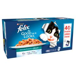 Felix Pouch As good as it looks Ocean Feasts in Jelly 40 pack