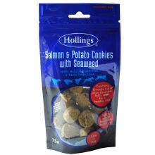 Hollings Salmon & Seaweed Cookies 75g