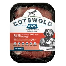 Cotswold Raw Active Sausage Beef