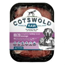 Cotswold Raw Active Sausage Turkey