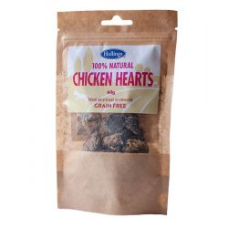 Hollings Natural Chicken Hearts 60g