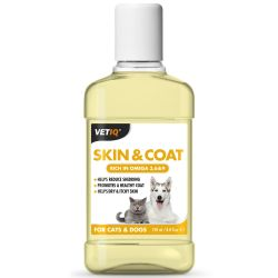 VETIQ Skin & Coat Oil for Cats and Dogs 250ml