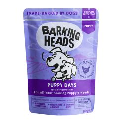 Barking Heads Puppy Days Pouch 300g x 10