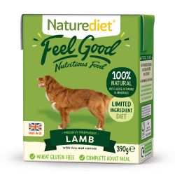 Naturediet Feel Good Lamb 390g x 18