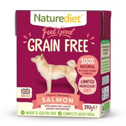 Naturediet Feel Good Grain Free Salmon 390g x 18