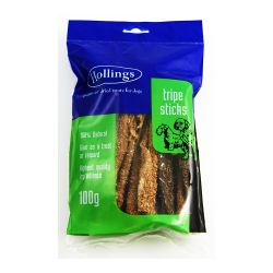 Hollings Tripe Sticks Pre Pack 100g