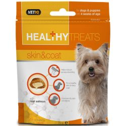VETIQ Healthy Treats Skin & Coat Dog 70g
