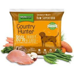 Country Hunter Turkey & Goose Nuggets 1kg