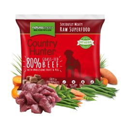 Country Hunter Grass-Fed Beef Nuggets 1kg