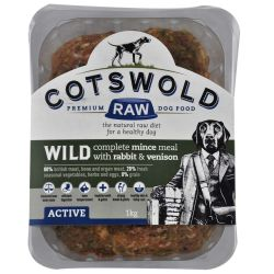 Cotswold Raw Wild Mince Venison & Rabbit