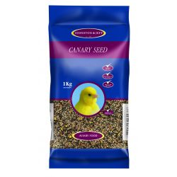 Johnston & Jeff Mixed Canary Seed 1kg