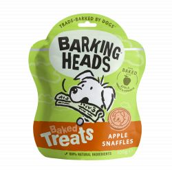 Barking Heads Apple Snaffles Baked Treats 100g