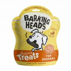 Barking Heads Top Banana Baked Treats 100g