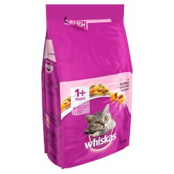 Whiskas 1+ Complete Dry with Salmon 1.9kg