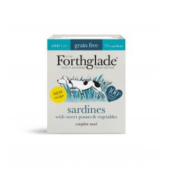 Forthglade Complete Grain Free Adult Sardines, Sweet Potato & Vegetables 18 x 395g