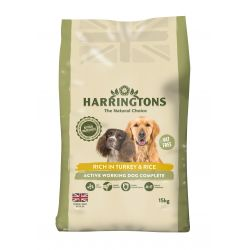 Harringtons Active Worker Complete Turkey & Rice 15kg