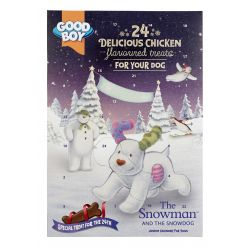 Good Boy Snowman Advent Calendar
