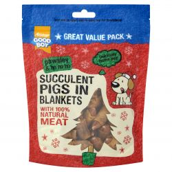 Good Boy Pawsley Succulent Pigs In Blankets 300g