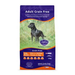Alpha Grain Free Chicken 15kg