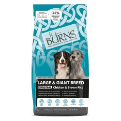 Burns Adult Large/Giant Breed Chicken & Brown Rice 12kg