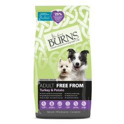 Burns Adult Free From Turkey and Potato