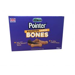 Pointer Assorted Large Bones 10kg