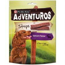 Adventurous Strips Venison 90g x 6