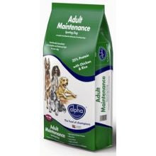 Alpha Adult Maintenance Sporting Dog 15KG - Pet Products R Us