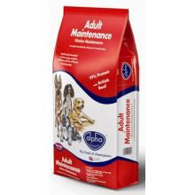 Alpha Adult Worker Maintenance 15KG - Pet Products R Us
