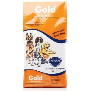 Alpha Gold Moist Muesli 15KG - Pet Products R Us