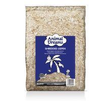 Animal Dreams Shredded Aspen 10ltr - Pet Products R Us